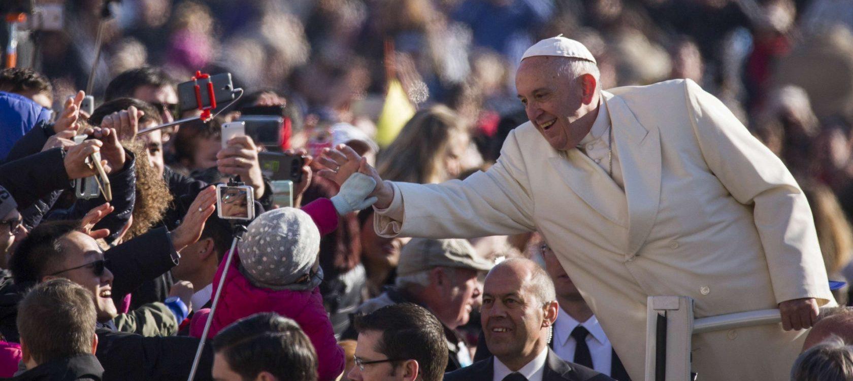 Papa Francesco in Visita a San Galdino